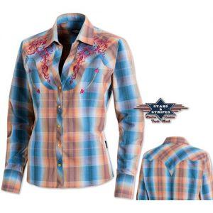 Košile western dámská STARS and STRIPES Whitney