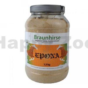 EPONA Braunhirse Geschotet – drcené hnědé proso 1,5kg