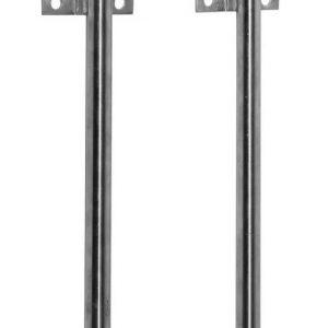 Oběhová trubka pro napaječky, nerezová, délka 75cm s dvěma odbočkami pro cirkulační potrubí
