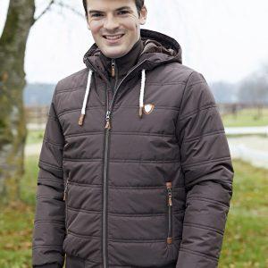 Kerbl Pánská zimní bunda Fero, kávová