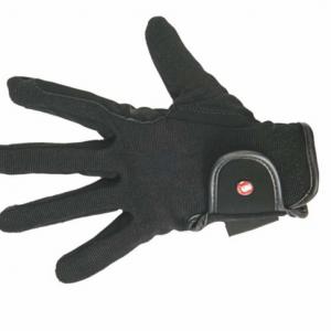 Dětské jezdecké rukavice HKM černé