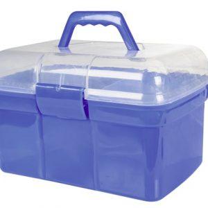 Box s čištěním HKM 2V1 royal modrá