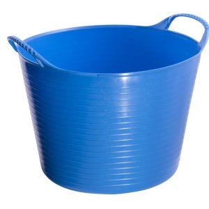 Vědro flexi gumové 14l modré