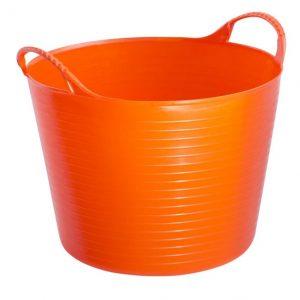 Vědro flexi gumové 14l oranžové
