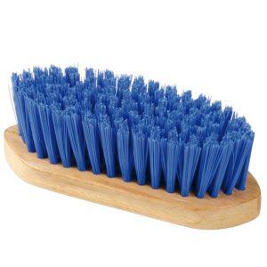 Kartáč na hrubou špínu 18cm modrý