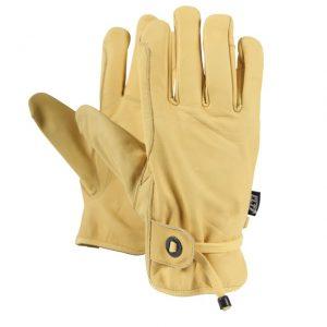 Westernové kožené rukavice