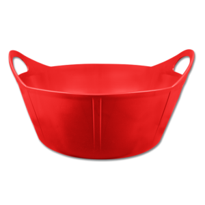 Gumová Flexi nádoba 15l red