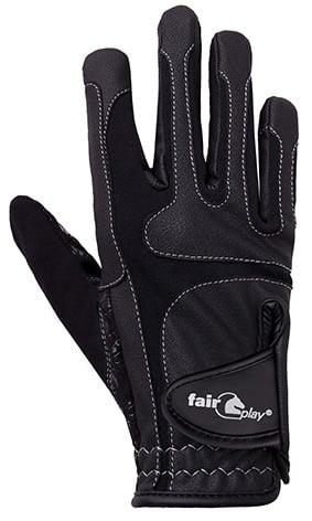Jezdecké rukavice FP Contour black