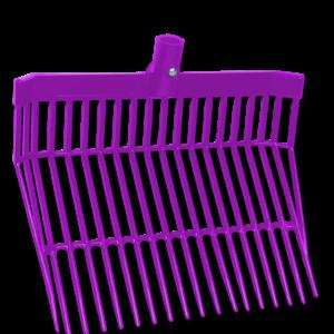 Plastové vidle na piliny 40cm fialové