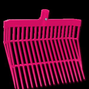 Plastové vidle na piliny 40cm růžové