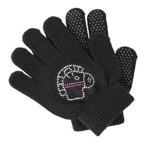 Dětské rukavice Black Forest black